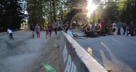 Whistler Longboard Fest Big Air and Bowl Fun 2013 3