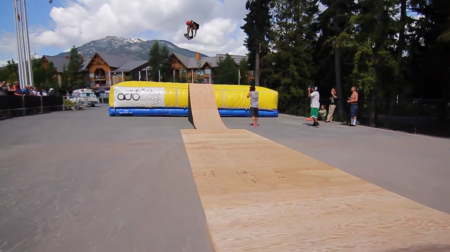 Whistler Longboard Fest Big Air and Bowl Fun 2013 9