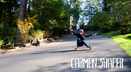 G-Form Skate: Carmen Shafer