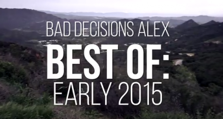 SkateslateTV Bad Decisions Alex Best of Early 2015 3